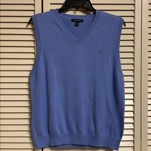 Lands end beautiful blue sweater vest